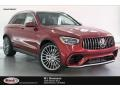 designo Cardinal Red Metallic - GLC AMG 63 4Matic Photo No. 1
