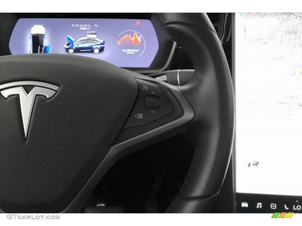 2018 Tesla Model X 75D Black Steering Wheel Photo ...