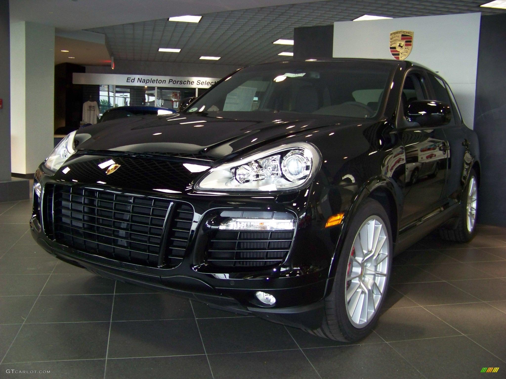 2009 Black Porsche Cayenne Turbo S #11374123 | GTCarLot.com - Car ...