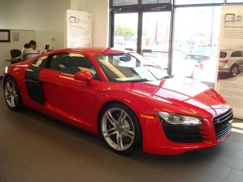 Audi R8 Red Incredible Overview