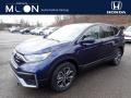 2020 Obsidian Blue Pearl Honda CR-V EX AWD #136233587