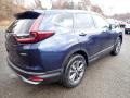 2020 Obsidian Blue Pearl Honda CR-V EX AWD  photo #4