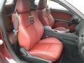 2019 Dodge Challenger Demonic Red/Black Interior Front Seat Photo
