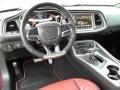 2019 Dodge Challenger Demonic Red/Black Interior Dashboard Photo