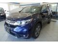 2019 Obsidian Blue Pearl Honda CR-V EX-L AWD #136233671