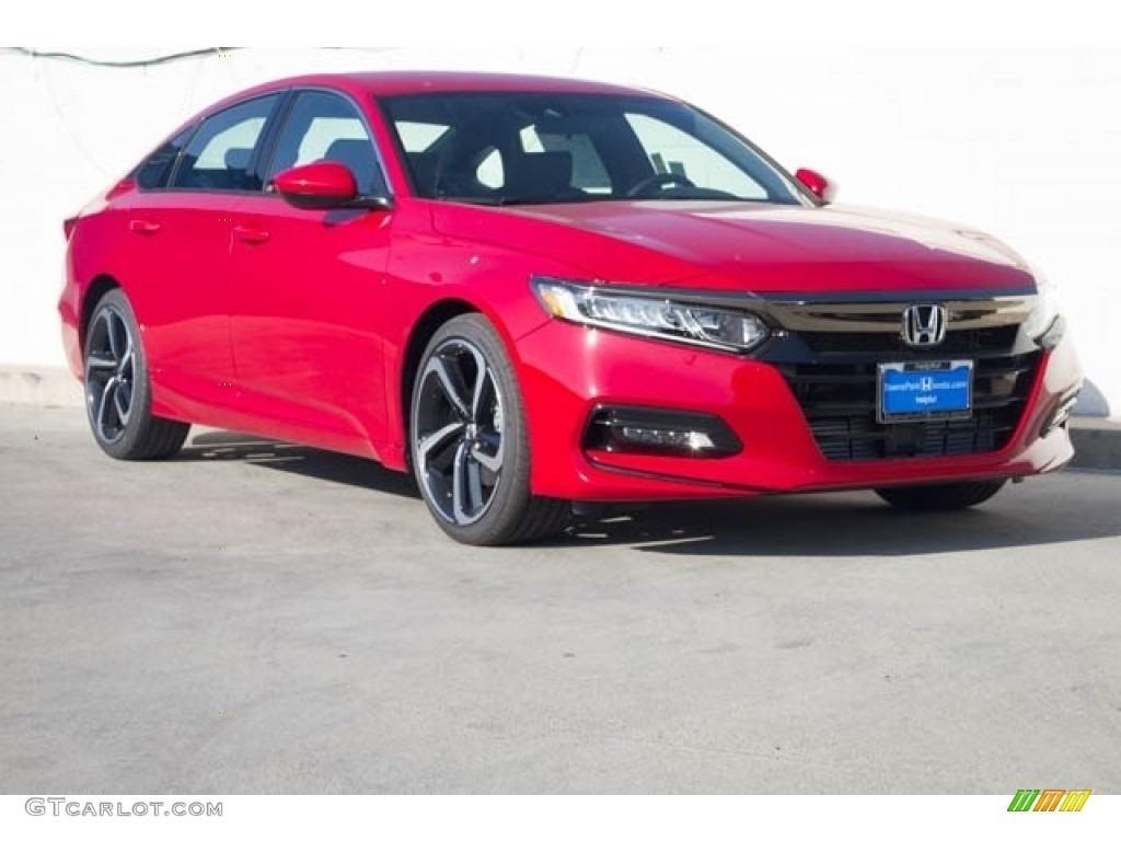 2020 Radiant Red Metallic Honda Accord Sport Sedan 136257907 Gtcarlot Com Car Color Galleries