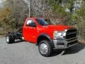 2019 5500 Tradesman Regular Cab 4x4 Chassis Flame Red