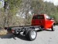 Flame Red - 5500 Tradesman Regular Cab 4x4 Chassis Photo No. 6