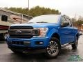 2019 Velocity Blue Ford F150 XLT SuperCrew 4x4  photo #1