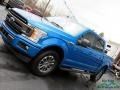 2019 Velocity Blue Ford F150 XLT SuperCrew 4x4  photo #34