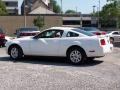 2007 Performance White Ford Mustang V6 Deluxe Coupe  photo #2