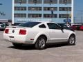 2007 Performance White Ford Mustang V6 Deluxe Coupe  photo #3