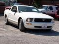 2007 Performance White Ford Mustang V6 Deluxe Coupe  photo #4