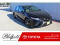 Midnight Black Metallic 2020 Toyota Camry SE