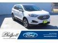 Star White Metallic Tri-Coat 2020 Ford Edge SEL