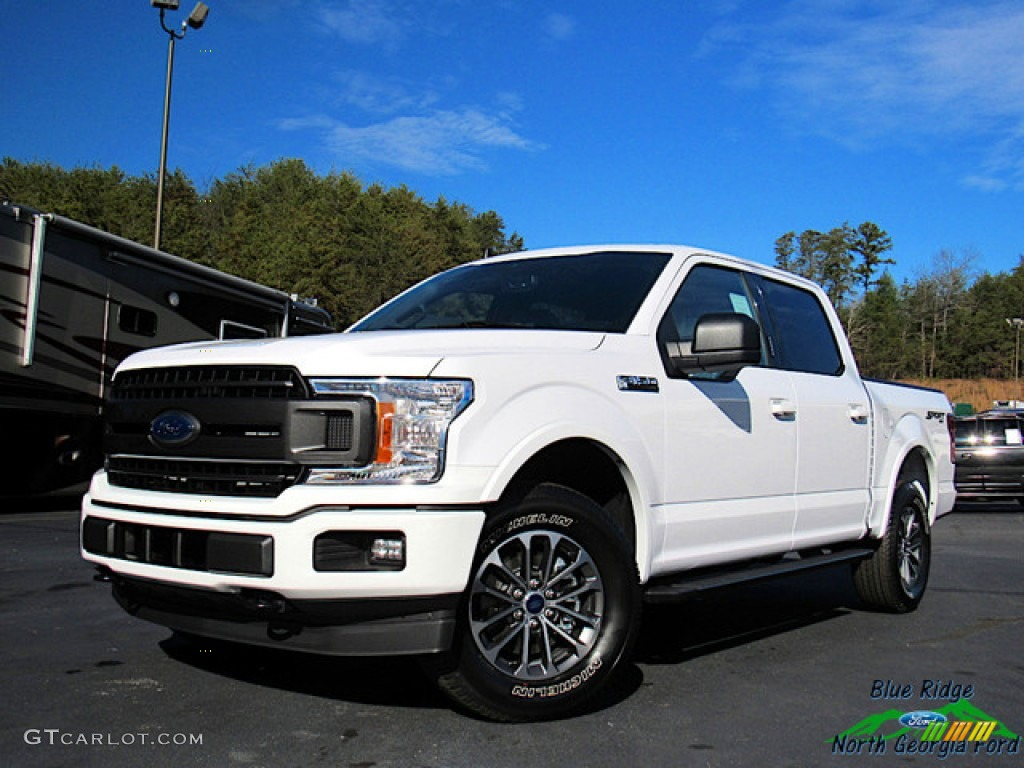 2020 F150 XLT SuperCrew 4x4 - Oxford White / Black photo #1