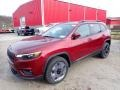 Velvet Red Pearl 2020 Jeep Cherokee Latitude Plus 4x4