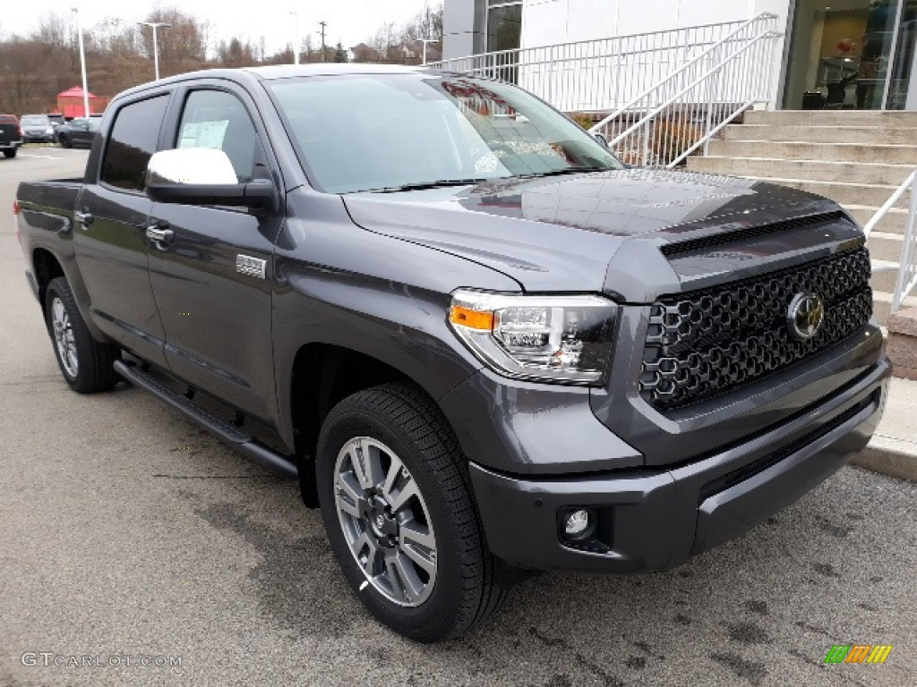 2020 Tundra Platinum CrewMax 4x4 - Magnetic Gray Metallic / Black photo #1