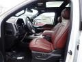 Platinum Unique Dark Marsala Interior Photo for 2020 Ford F150 #136351901