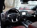 Platinum Unique Dark Marsala Dashboard Photo for 2020 Ford F150 #136351958