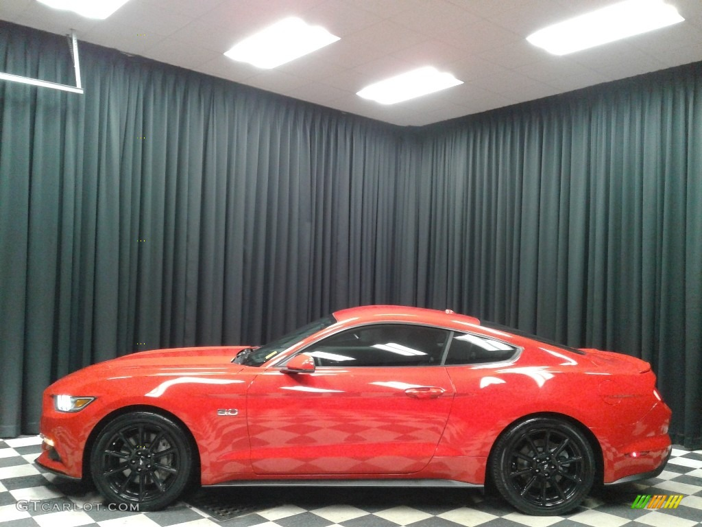 2016 Mustang GT Coupe - Race Red / Ebony photo #1
