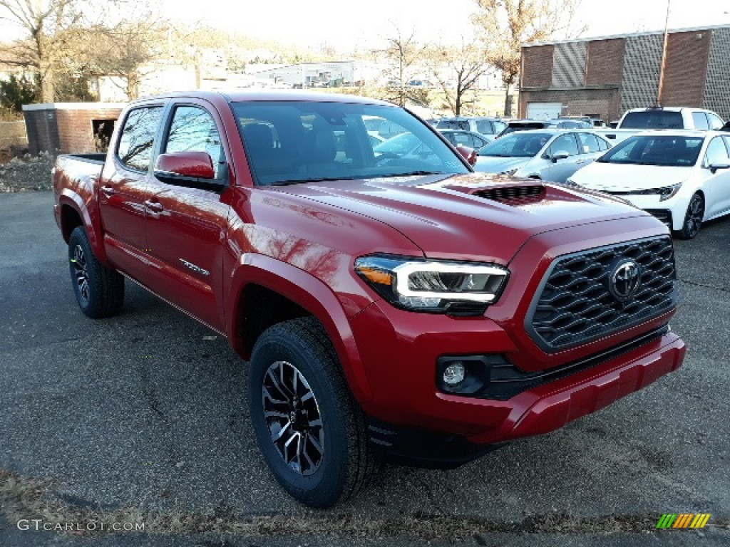 2020 Barcelona Red Metallic Toyota Tacoma Trd Sport Double Cab 4x4 136363932 Gtcarlot Com Car Color Galleries
