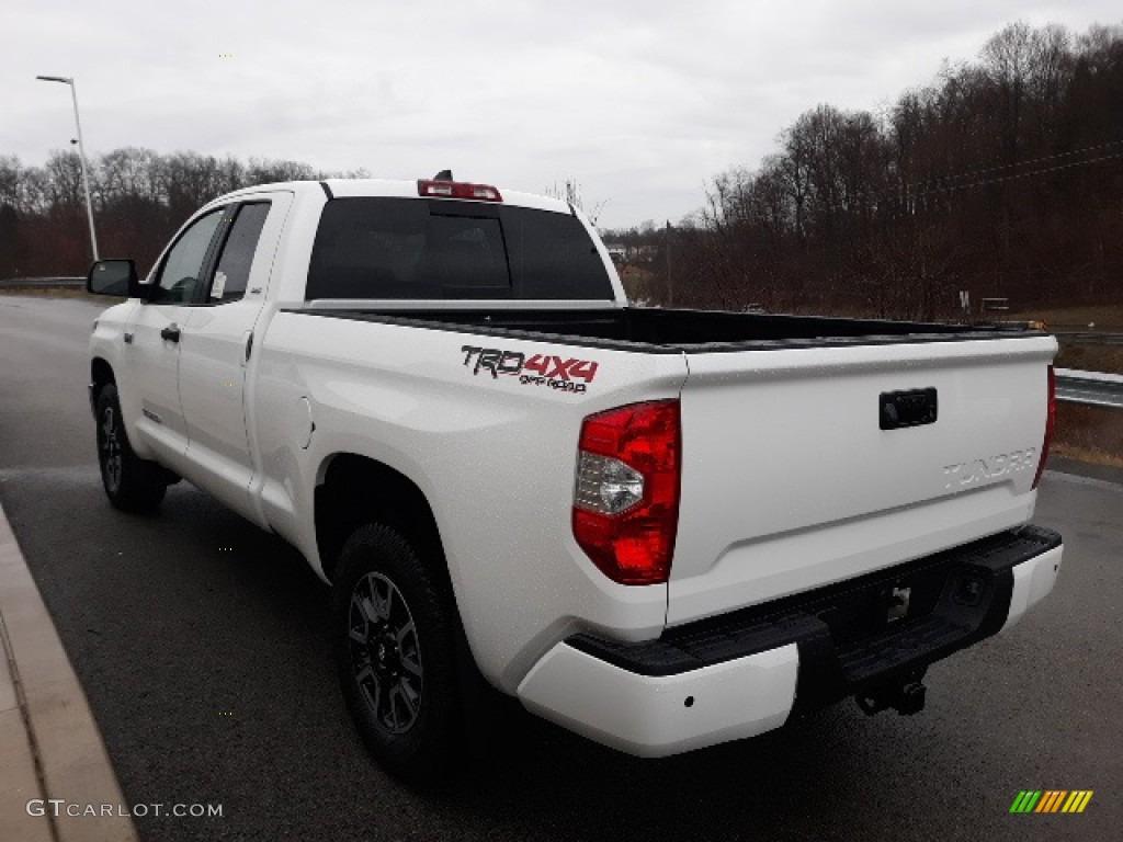 2020 Tundra SR5 Double Cab 4x4 - Super White / Graphite photo #1