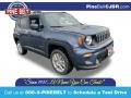 Slate Blue Pearl 2020 Jeep Renegade Latitude 4x4
