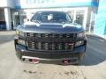 2020 Shadow Gray Metallic Chevrolet Silverado 1500 Custom Trail Boss Crew Cab 4x4  photo #2