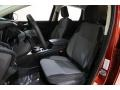 Chromite Gray/Charcoal Black Front Seat Photo for 2019 Ford Escape #136417933