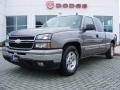 2006 Graystone Metallic Chevrolet Silverado 1500 LT Extended Cab  photo #1