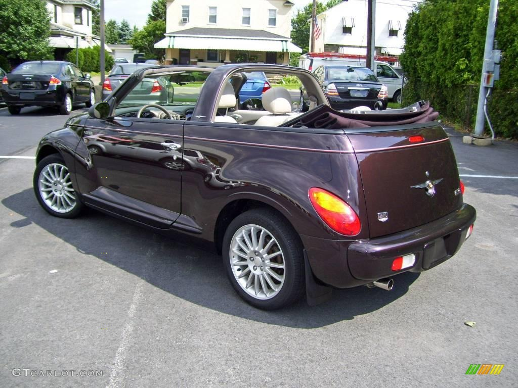 2005 dark plum pearl chrysler pt cruiser dream cruiser. Black Bedroom Furniture Sets. Home Design Ideas