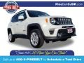 2020 Alpine White Jeep Renegade Latitude 4x4 #136441946