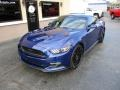 2016 Deep Impact Blue Metallic Ford Mustang GT Premium Coupe  photo #2