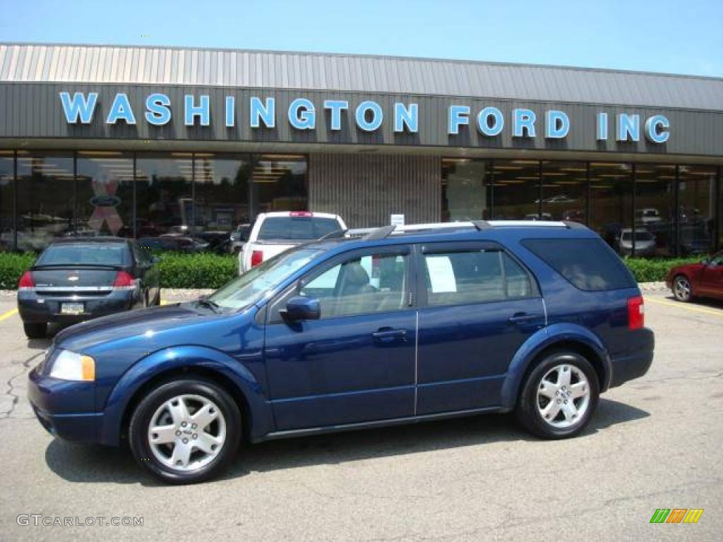 2005 dark blue pearl metallic ford freestyle limited awd. Black Bedroom Furniture Sets. Home Design Ideas
