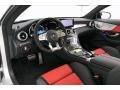 2020 C AMG 63 S Coupe Red Pepper/Black Interior