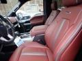 Platinum Unique Dark Marsala Front Seat Photo for 2020 Ford F150 #136495708