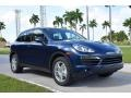 Dark Blue Metallic 2012 Porsche Cayenne
