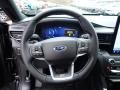 Ebony Steering Wheel Photo for 2020 Ford Explorer #136504196