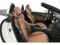 2020 SLC 300 Roadster Saddle Brown Interior