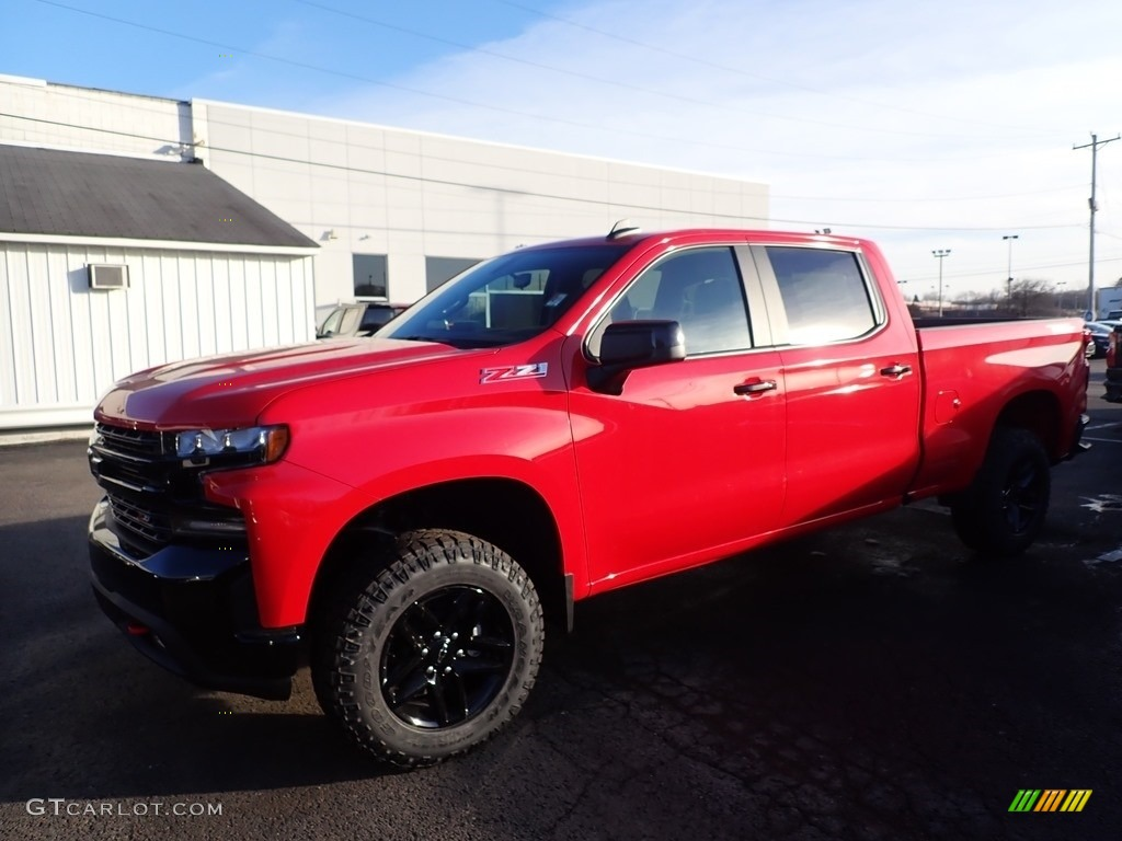 2020 Silverado 1500 LT Trail Boss Crew Cab 4x4 - Red Hot / Jet Black photo #1