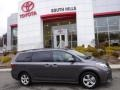 2019 Predawn Gray Mica Toyota Sienna LE  photo #2