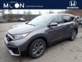 2020 Modern Steel Metallic Honda CR-V EX AWD  photo #1