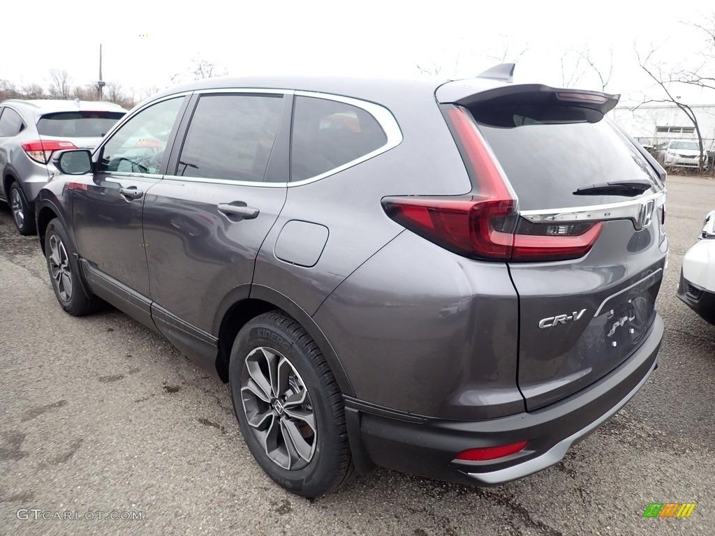 2020 CR-V EX AWD - Modern Steel Metallic / Gray photo #2