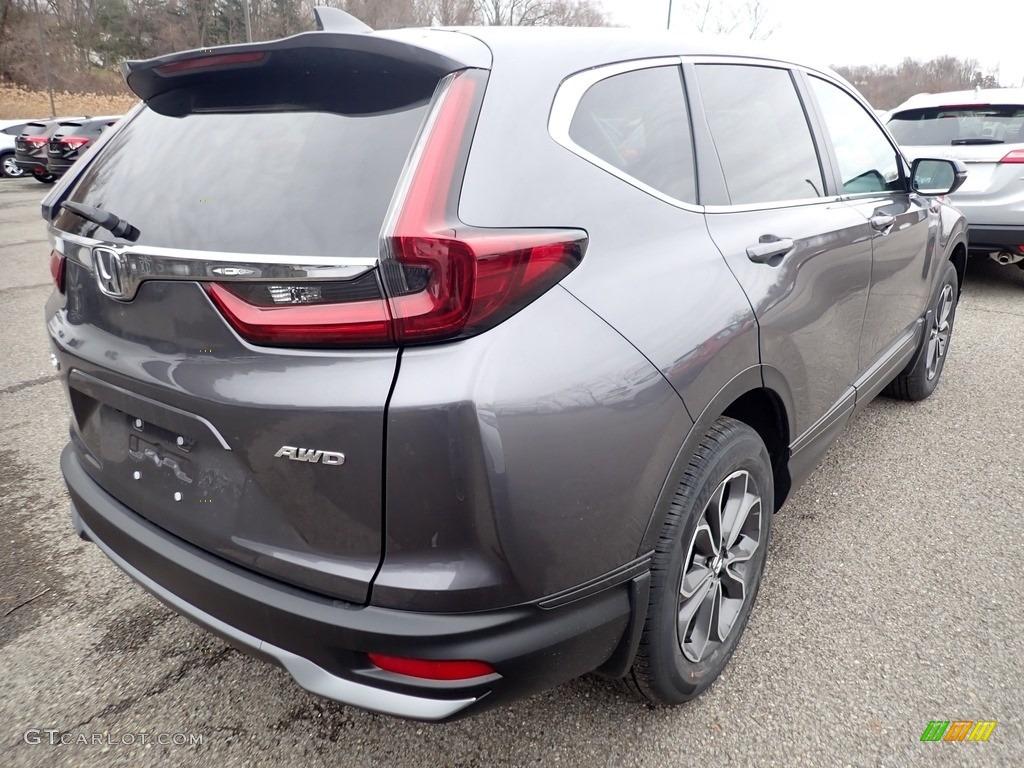2020 CR-V EX AWD - Modern Steel Metallic / Gray photo #4