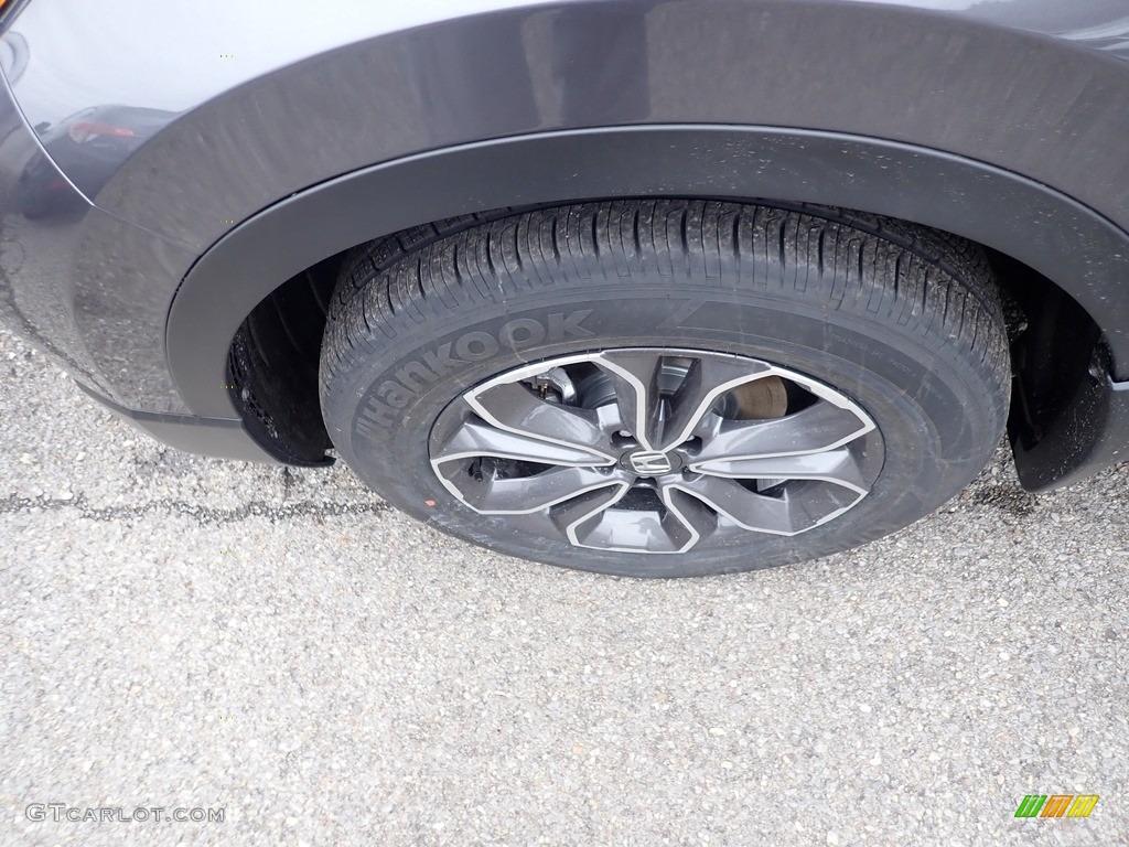 2020 CR-V EX AWD - Modern Steel Metallic / Gray photo #7