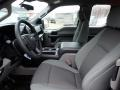 Medium Earth Gray Front Seat Photo for 2020 Ford F150 #136719639