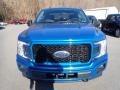 2020 Velocity Blue Ford F150 STX SuperCab 4x4  photo #4