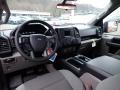 Medium Earth Gray Interior Photo for 2020 Ford F150 #136719675