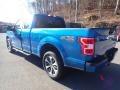 2020 Velocity Blue Ford F150 STX SuperCab 4x4  photo #6
